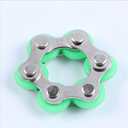 1 Pcs Roller Chain Fidget Toy,Bike Chain Fidget Toys for ADD,ADHD,Anxiety,and Autism by TOYZHIJIA