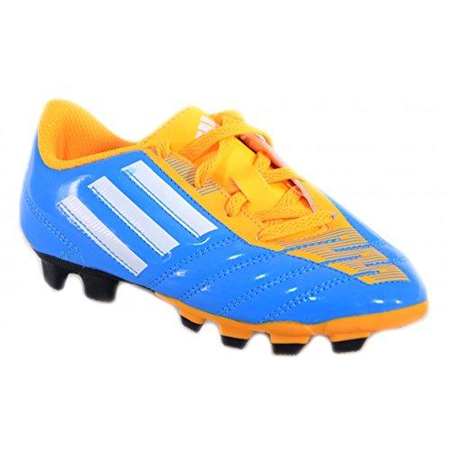 adidas Taqueiro FG J Fußballschuhe Kinder Himmelblau Leder M17559 Blau, 38,5