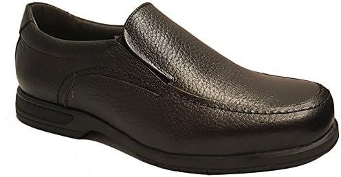 TOLINO - Zapato negro ANCHO ESPECIAL - Sin cordones - A7650