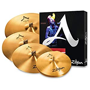 Zildjian A391 A Series Brilliant finish, 4 pezzi
