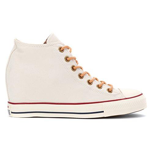 Converse-Sneaker Chuck Taylor All Star, in tela, motivo Lux, leggero Beige