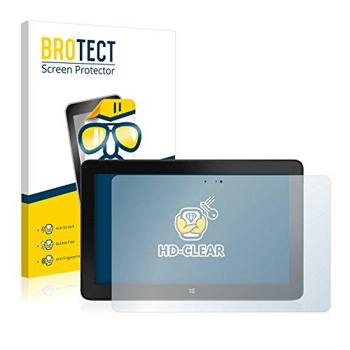 BROTECT Schutzfolie kompatibel mit Dell Venue 11 Pro 7140 (2013-2014) [2er Pack] - klarer Bildschirmschutz