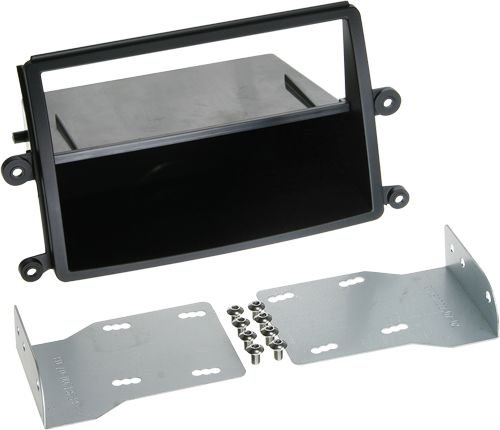 ACV 2-DIN RB mit Fach Mitsubishi L200 2006 > schwarz (Mitsubishi Lancer Doppel Din Kit)