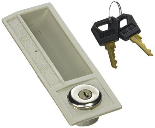 Grau Kunststoff Platte Store Schrank Tür Ersatz Sicherheit Flugzeug Cam Lock