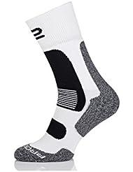 Prosske calientes calcetines deportivos Husky WSH de 1Trekking Calcetines Senderismo Calcetines Invierno Calcetines, color  - blanco-negro, tamaño 38 - 41