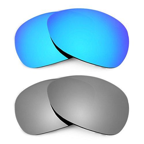 Revant Ersatzlinsen für Oakley Crosshair (2012) Polarisiert 2 Paar Kombipack K004