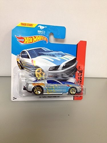Hot wheels '13 ford mustang GT RARE short card 50 year mustang track stars 161/250 hw race by Hot Wheels