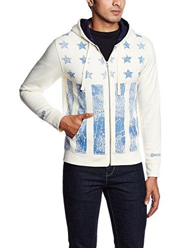 Flying Machine Men's Poly Cotton Sweatshirt