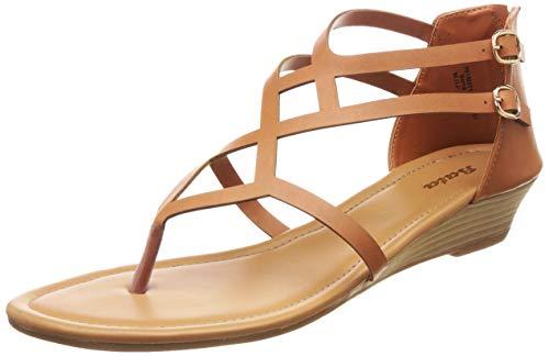 BATA Women's Lozze Tan Fashion Sandals-4 UK/India (37 EU) (6613054)