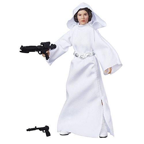 Hasbro Star Wars B9803ES0 E7 The Black Series 6 Zoll Figur: Princess Leia, Actionfigur