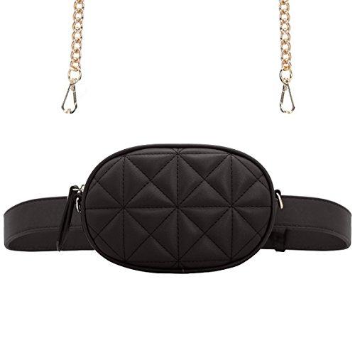 stile distintivo comprare popolare più vicino a CRAZYCHIC - Borsa Ovale Marsupio Cintura Donna - Waist Pack ...