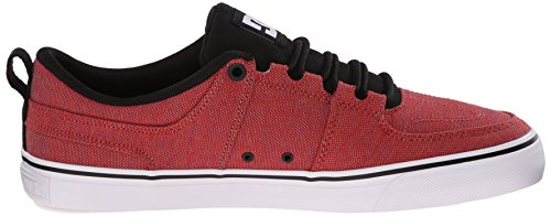 DC - Lynx Vulc Tx Se Low Top Chaussures pour hommes Red Heather