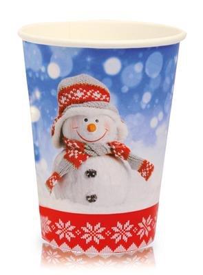 """Coffee-to-Go Becher 200ml """"Hallo Winter"""" Glühweinbecher 0,2 Liter 200 Stück"""