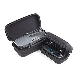 Rantow Coque protège-étanche pour DJI Mavic Pro Drone Body et télécommande Combo, sac portatif Case Travel Box pour DJI Mavic Pro Drone Black