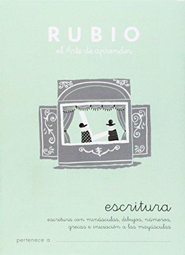 Cuadernos Rubio: Escritura 1 por Ramón Rubio Silvestre