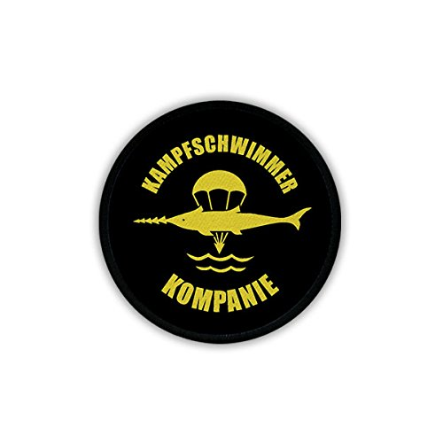 Copytec Patch Kampfschwimmer Kompanie BW Marine Wappen Abzeichen Spezialkräfte #18316