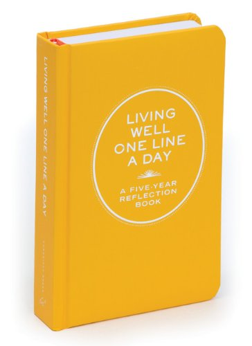 living-well-one-line-a-day-a-five-year-reflection-book