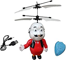 Magicwand® IR Remote Controlled Flying Motu Patlu Flyer with Remote
