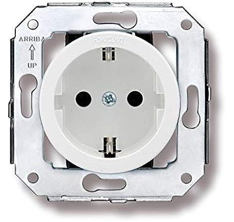 /Commutateur porcelaine 10/A//250/V bois vieilli Garby Pack fontini Garby/