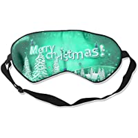 Eye Mask Eyeshade Christmas Picture Sleep Mask Blindfold Eyepatch Adjustable Head Strap preisvergleich bei billige-tabletten.eu