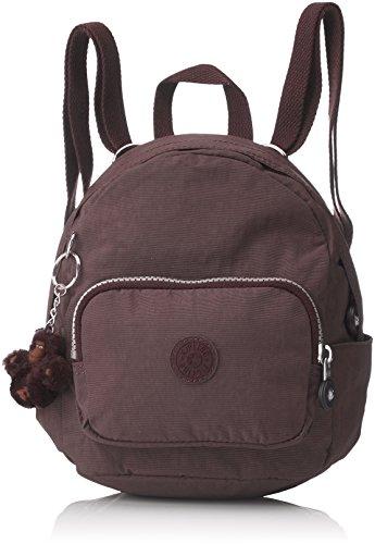 Kipling Mini Backpack, Mochila para Mujer, Marrón Campfire Smoke, 17x19x21.5 cm B x H x T
