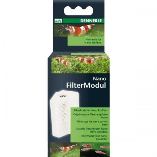 Dennerle Nano Clean Eckfilter, Ersatz-Filter, Innenfilter, Filtermaterial