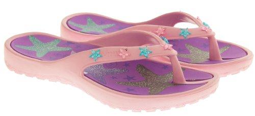 De Fonseca Eté Tongs Sandales Chaussures de Plage Filles Étoile De Mer Rose