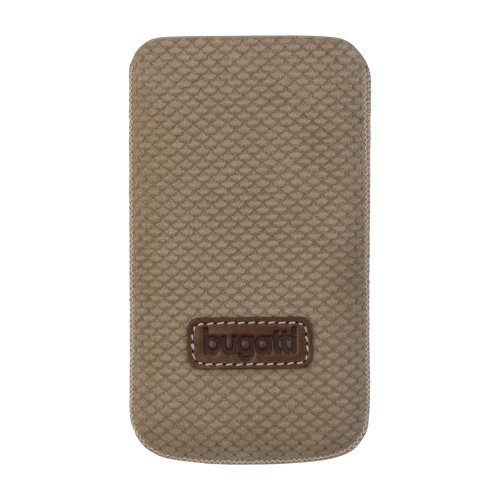 Bugatti Perfect Scale iPhone4 Hülle Leder reed brown
