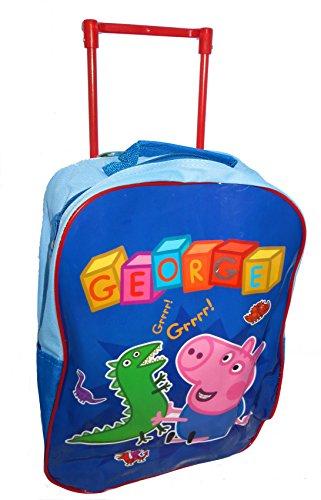 peppa-pig-george-bleu-roues-trolley-sac