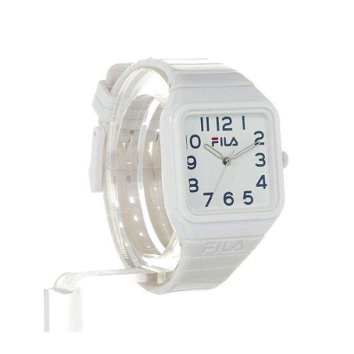Fila Kinder-Armbanduhr Analog Plastik Weiß FL38018003 - 2