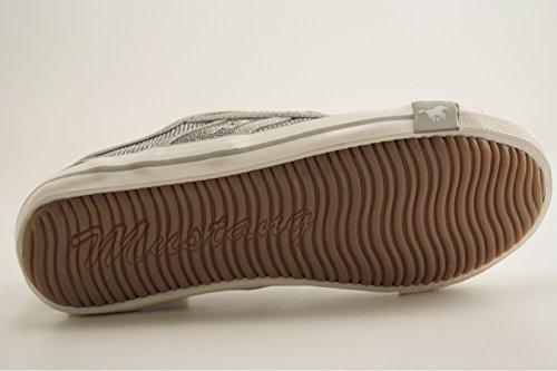Tennis 5803 308 Lacet Mustang Scarpe Clair Gris wFtExqgg5C