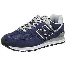 New Balance Men's 574v2 Core Sneaker, Blue (Navy), 10.5 UK