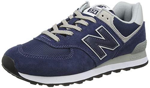 New Balance Ml574egn, Baskets Homme - Bleu (Navy) 42 EU