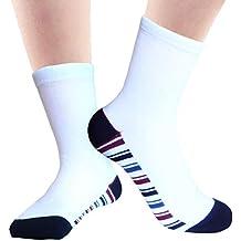 JHosiery Niños calcetines bambú agarre suave con costura plana para mayor comodidad