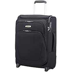 SAMSONITE Spark SNG - Upright 55/20 Expendable with SmartTop Equipaje de Mano, 55 cm, 48,5 Liters, Negro (Black)