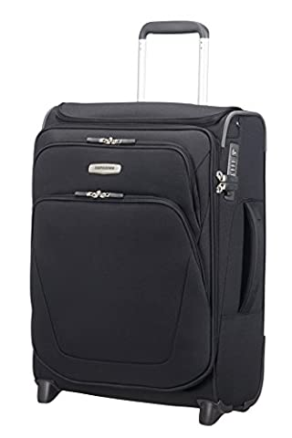 SAMSONITE Spark SNG - Upright 55/20 Expendable with SmartTop Bagage cabine, 55 cm, 48,5 liters, Noir (Noir)
