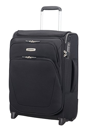 SAMSONITE Spark SNG - Upright 55/20 Expendable with SmartTop Bagage cabine, 55 cm, 48,5 liters, Schwarz - Spinner Upright Koffer
