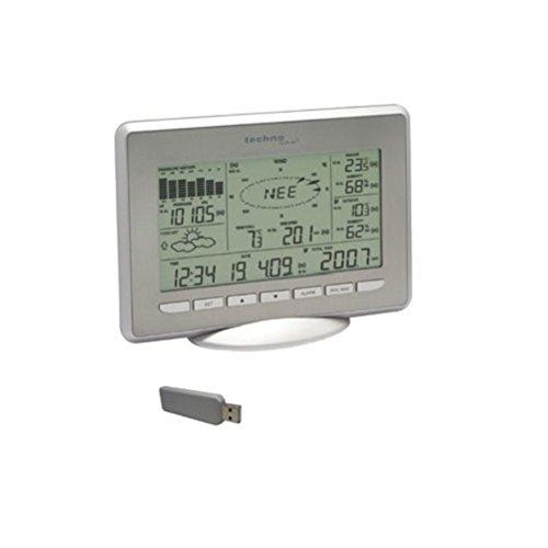 Technoline WS 2800, Alluminio/Argento, 22.2x3.4x16.3 cm