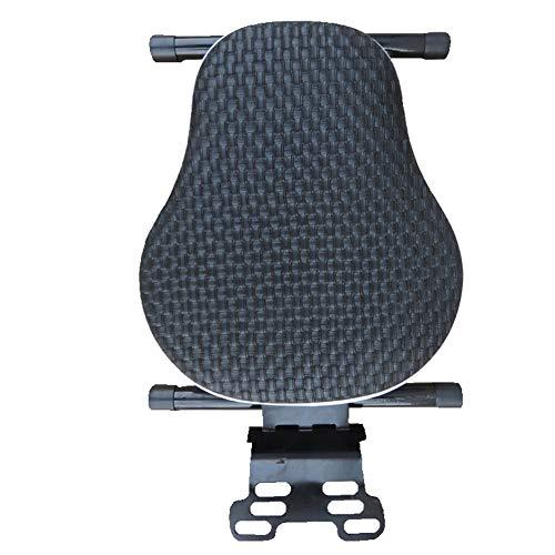 DMMSS Kindersitz Für Fahrrad - Motorrad Roller Vorne Klappsitz Batterie Autosicherheitssitz,Black