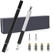 Penna Stilo Attivo, FusionTech® Sottile lungo 2 in 1 Capacitivo Stylus pen [Pennino di precisione], UniversaleTouch Screen sensibile Fine Punta in Fibra, per Tutti gli Smartphones & Touchscreens