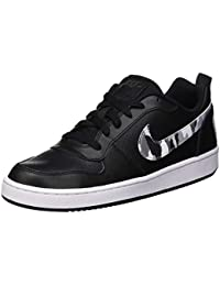 NIKE Court Borough Low (GS), Zapatillas de Gimnasia para Niños