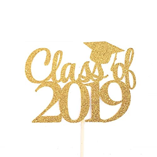 Class of 2019 Cake Topper, Graduation Cake Topper, Happy Graduation Cake Topper, Graduation Party Decorations, Farewell Party Décor (Pops Graduation Cake)