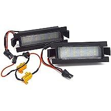 GZCRDZ - 1 par de luces de matrícula para I30 (GD) 2013-2015
