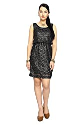 Van Heusen Womens Regular Fit Dress_ VWDR513E08474_M_ Black