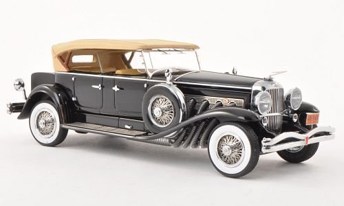 duesenberg-model-j-tourster-derham-black-beige-1930-model-car-ready-made-neo-143