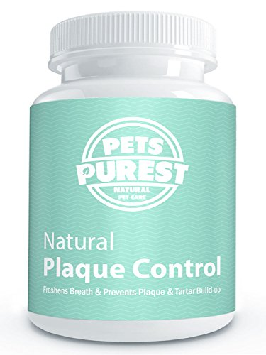 Pets Purest 100% Natural Plaque Off & Tartar Remover For Dogs & Cats | Premium Plaque Control | Breath Freshener For Dogs, Cats & Pets | Dental Care Prevents Plaque & Tartar Build Up Freshens Breath | Fight Bad Breath & Tartar Build Up | Effective Plaque Removal & Dog Breath Freshener | (60g)