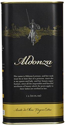 Aceite de Oliva Virgen Extra, Aldonza - 1 L -Primera Extración en...