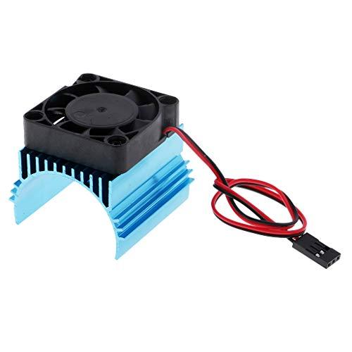Homyl Kühlkörper Motorkühlung Kühlerlüfter Zubehör für 1/10 RC Motor 540/550/3650 -