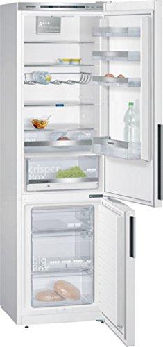 Siemens KG39EDW40 iQ500 Kühl-Gefrier-Kombination / A+++ / 201 cm Höhe / 156 kWh/Jahr / 250 Liter Kühlteil / 89 Liter Gefrierteil / Kältegerät kühlt besonders effizient