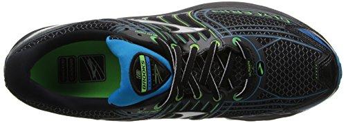 Brooks Glycerin 12, Chaussures de Running Homme Noir (Black/Green/Atomic Blue)
